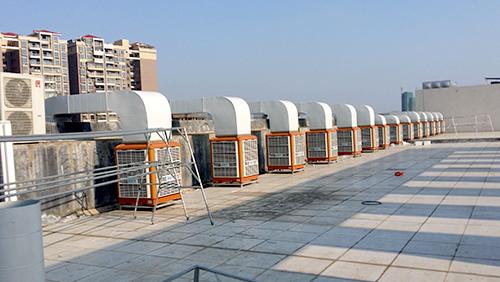 厂房通风降温设备那么多.为何要选环保空调
