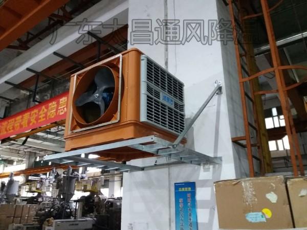 这个车间通风降温设备轻松解决车间降温问题