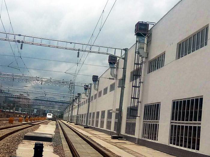 火车站高铁站安装节能环保空调