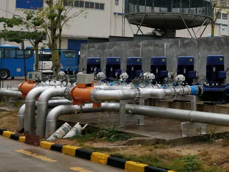 精密注塑机冷冻水工程