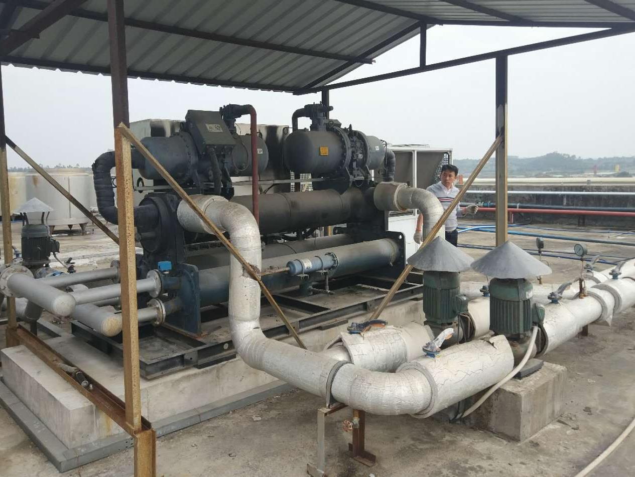 太昌150匹冷冻水工程竣工运行
