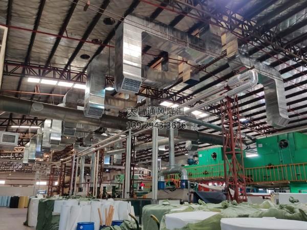 工厂生产车间常用的通风降温方法