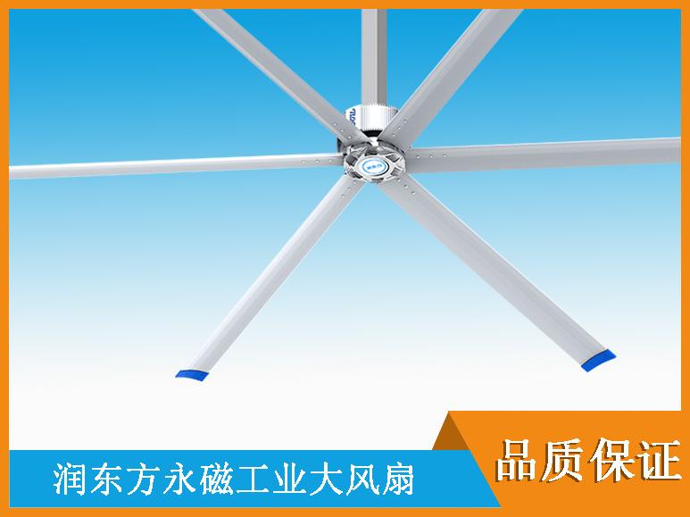 商业场所工业大风扇通风降温方案