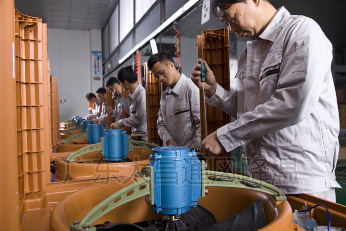 环保空调生产线