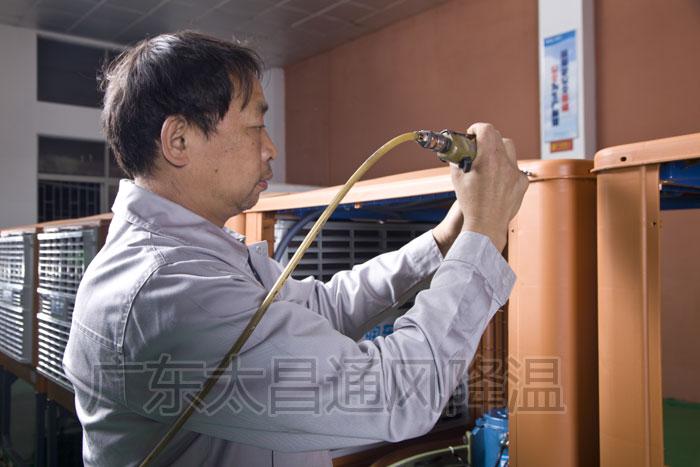 环保空调生产线1