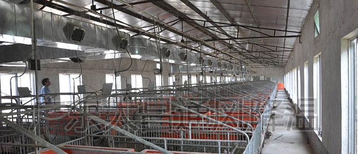 养殖场通风降温工程