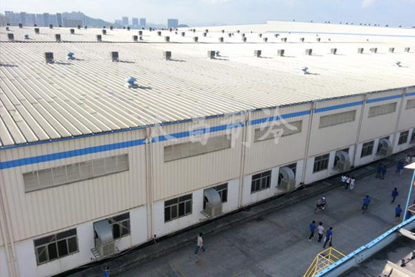 汽车厂安装环保空调