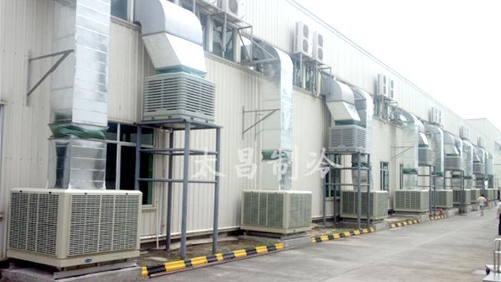 玩具工厂车间节能环保空调安装工程案例