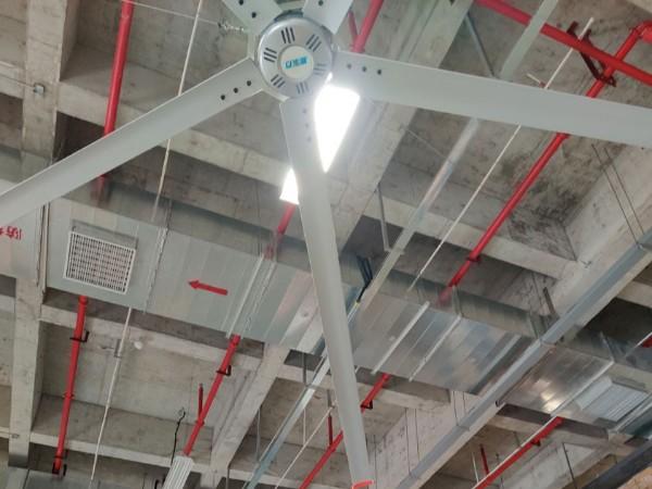 又一家大型仓库工业大风扇工程竣工