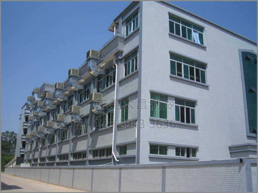 润东方环保空调,环保空调安装,环保空调,厂房降温,铁皮房降温