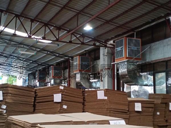 厂房通风降温选润东方东莞环保空调的优势