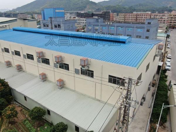 一款节能环保的高温车间降温设备-润东方环保空调