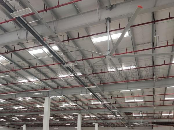 大型仓库通风降温方案